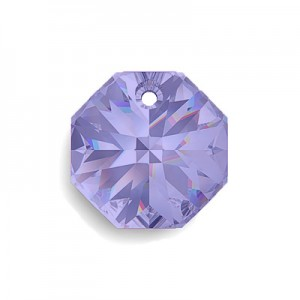 Swarovski 6401 Octagon Tanzanite 12mm - 4τεμ