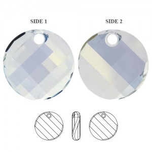Swarovski 6621 Twist - Crystal Blue Shade 18x6mm - 1τεμ