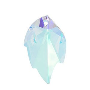 Swarovski 6735 Leaf Crystal AB 26x16mm - 1τεμ