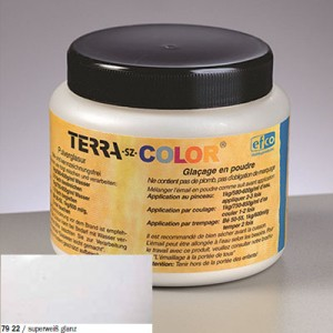 Χρώμα Κεραμικής Terra-sz-Color - Superwhite Sheen - 1020-1080°C