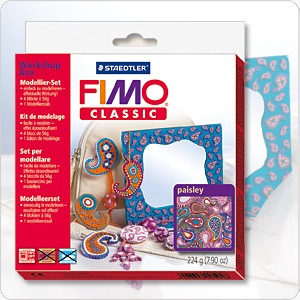 FIMO Workshop Box - Paisley