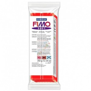 Fimo Soft 24 Indian Red - 350gr