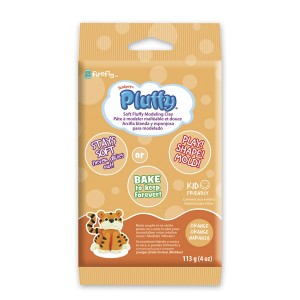 Πηλός Pluffy Orange 113gr