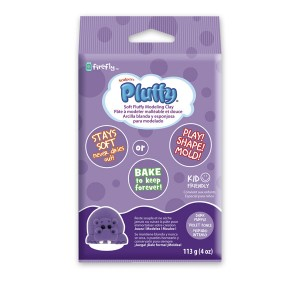 Πηλός Pluffy Dark Purple 113gr