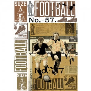 Χαρτί για decoupage 50x70cm Football