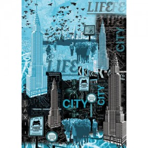 Χαρτί για decoupage - New York Life - 50x70cm
