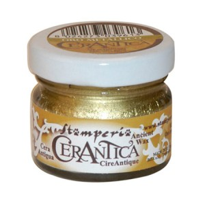 Stamperia Πατίνα Cerantica - Gold Metallic - 20ml