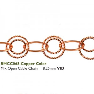 Αλυσίδα Mix Open Cable - 8.25mm Copper - 50cm