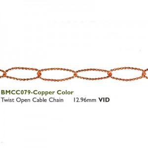 Αλυσίδα Twist Open Cable - 12.96mm Copper ~75cm