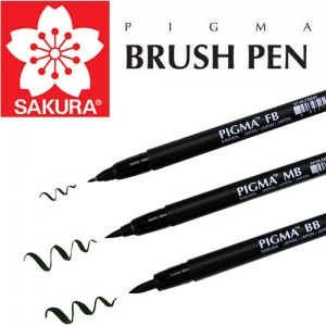 Μαρκαδόροι Sakura Pigma Brush Pen