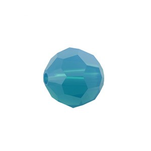 Swarovski 5000 Faceted Round Caribbean Blue Opal 6mm - 10τεμ
