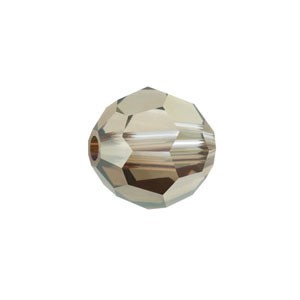 Swarovski 5000 Faceted Round Crystal Bronze Shade 4mm - 10τεμ