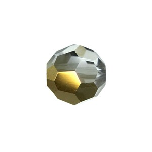 Swarovski 5000 Faceted Round Crystal Dorado 4mm - 10τεμ