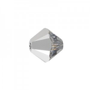 Swarovski 5328 XILION Bicone Crystal Light Chrome 4mm - 30τεμ