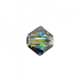 Swarovski 5328 XILION Bicone Crystal Vitrail Medium 4mm - 30τεμ