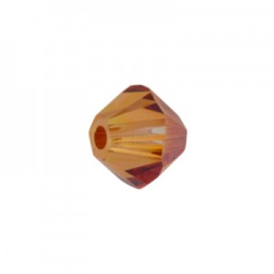 Swarovski 5328 XILION Bicone C.C. Crystal Chili Pepper 4mm - 30τεμ