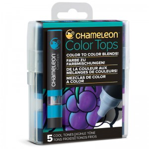 Σετ Chameleon™ Color Tops - Cool Tones - 5τεμ