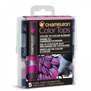 Σετ Chameleon™ Color Tops - Floral Tones - 5τεμ