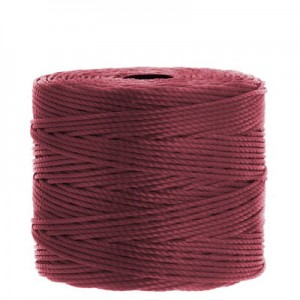 Νήμα Superlon Ø0.5mm - Dark Red - 70m