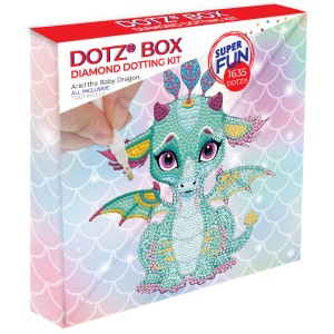 Ψηφιδωτό Diamond Dotz DBX.010 Ariel The Baby Dragon