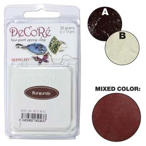 Πηλός Decore Clay - Burgundy - 20gr