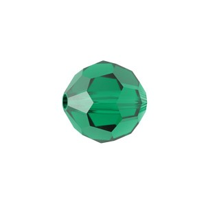 Swarovski 5000 Faceted Round Emerald 3mm - 20τεμ