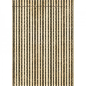Φύλλo Polyester Felt - 50x70cm - Striped - 1mm - 1τεμ