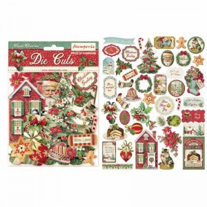 Διακοσμητικά Die Cuts Stamperia - Classic Christmas