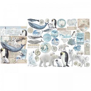 Διακοσμητικά Die Cuts Stamperia - Arctic Antarctic