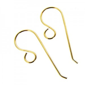 Hook Gold Filled 14K French Ear Wire 24mm - 2τεμ