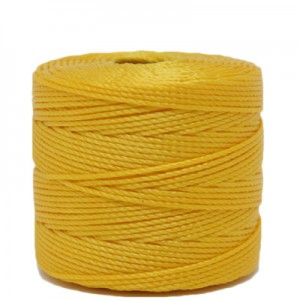 Νήμα Superlon Ø0.5mm - Golden Yellow - 70m