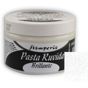 Stamperia Πάστα Ruvida Brillante - Crystal Glitter - 150ml