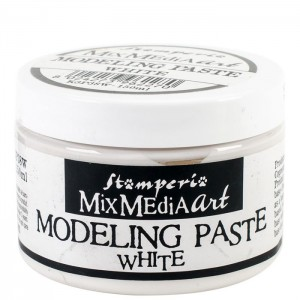 Stamperia Mix Media - Modeling Paste Άσπρο - 150ml