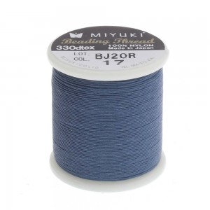 Miyuki Nylon Νήμα - Dark Blue - Ø0.25mm - 50m