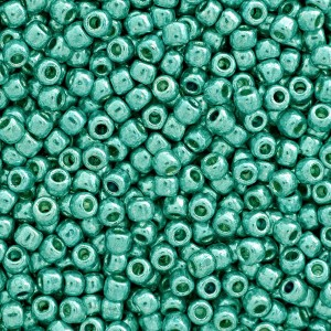 Toho® Χάντρα Round 11/0 - Permanent Finish Galvanized Teal PF569 ~10gr