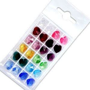 Swarovski 6228 Heart Mix 10.3x10mm - 24τεμ