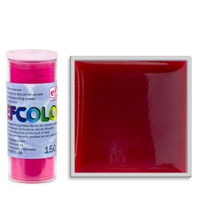 Σμάλτο Μετάλλου Efcolor 150ºC - Red Transparent - 10ml