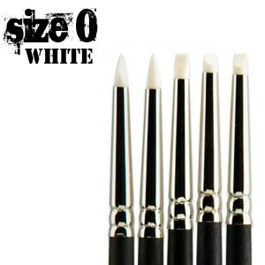 Colour Shapers Brushes size 0 - white soft