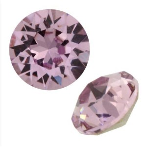 Swarovski 1088 Xirius Chaton Light Amethyst SS39 Ø8.29x5.1mm - 6τεμ