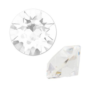 Swarovski 1088 Xirius Chaton Crystal Unfoiled SS39 Ø8.29x5.1mm - 12τεμ