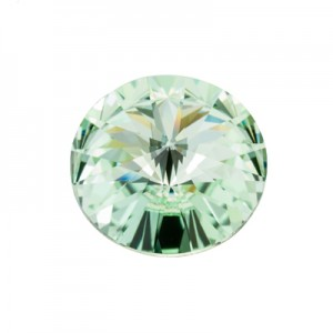 Swarovski 1122 Rivoli Chrysolite Ø12mm - 4τεμ