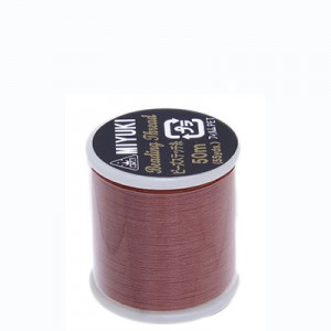Miyuki Nylon Νήμα - Nutmeg - Ø0.25mm - 50m