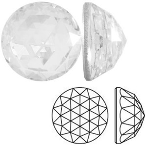 Swarovski 2072 Rose Cut Crystal Ø12mm - 1τεμ