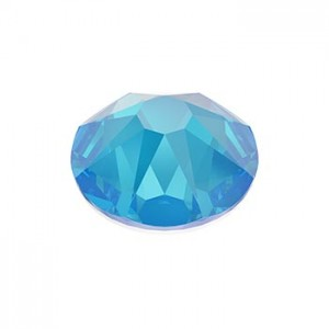 Swarovski 2088 GlueFix XIRIUS Crystal Electric Blue DeLite SS30 Ø6.4x3mm ~24τεμ