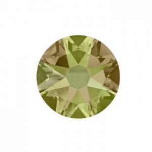 Swarovski 2088 GlueFix XIRIUS Crystal Luminous Green SS12 Ø3x1mm ~72τεμ