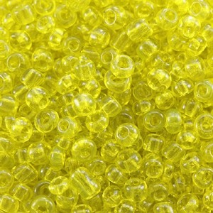 Χάντρα Seed Beads 11/0 - Clear Yellow - 20gr