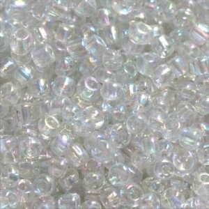 Χάντρα Seed Beads 11/0 - Rainbow Transparent - 20gr