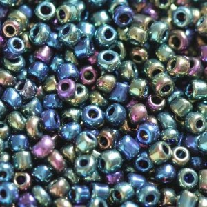 Χάντρα Seed Beads 11/0 - Rainbow Navy Mix - 20gr