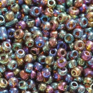 Χάντρα Seed Beads 11/0 - Rainbow Purple Mix - 20gr