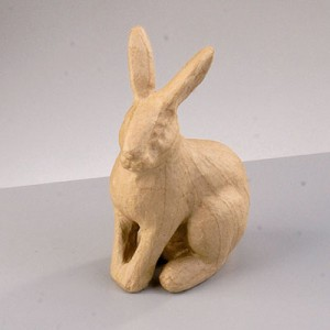 Φιγούρα Pappart Rabbit Sitting 15x9x6cm